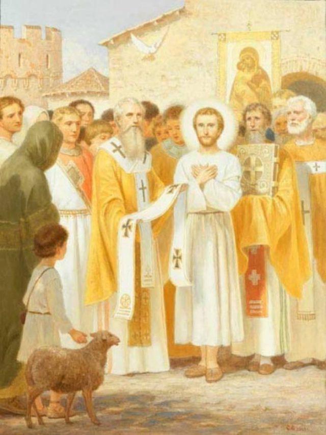 Избрание епископа Мир Ликийского