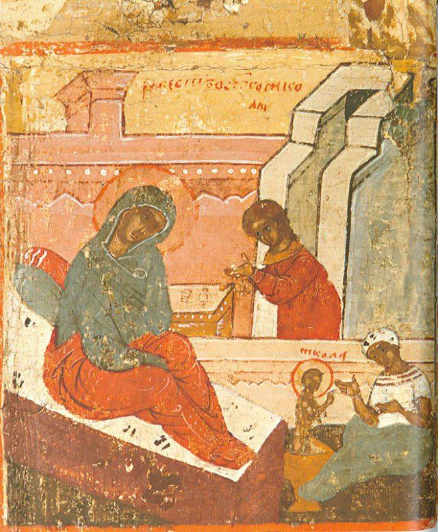 Рождение Николая Угодника