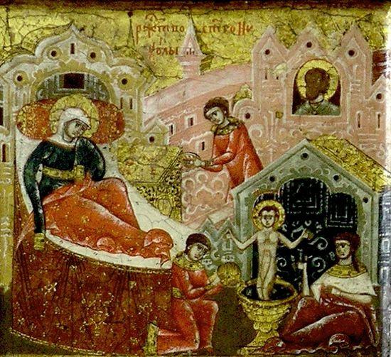 Рождество Святителя - икона