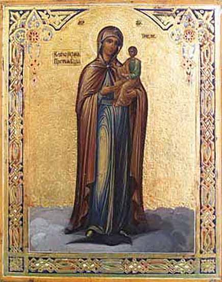 Икона Божией Матери «Ключ разумения»