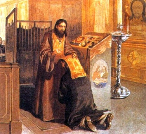 Какие молитвы читать при подготовке к исповеди