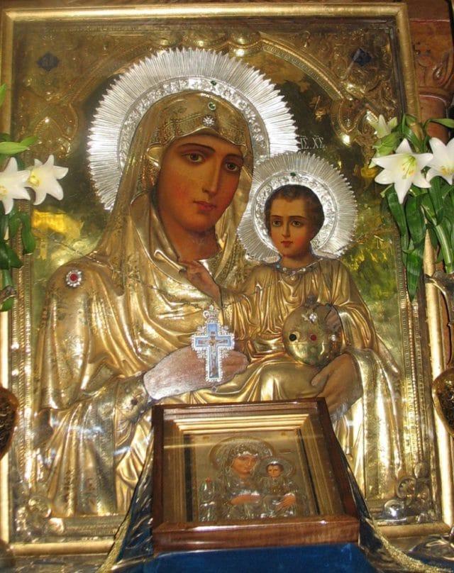 Молитва одигитрии