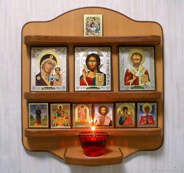 Как своими руками сделать иконостас дома своими руками фото 65
